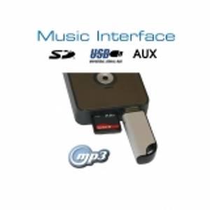 Bilde av Digital Musikk Interface - USB/SD - Quadlock - Audi/VW