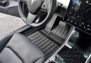 Bilde av Gulvmatter Tesla Model 3 - v.2